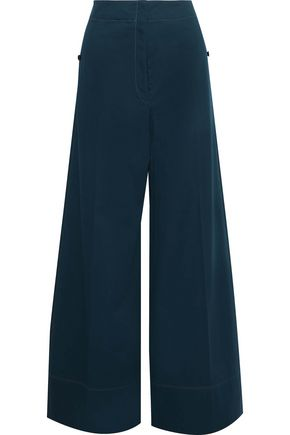 LEMAIRE Wool-twill wide-leg pants