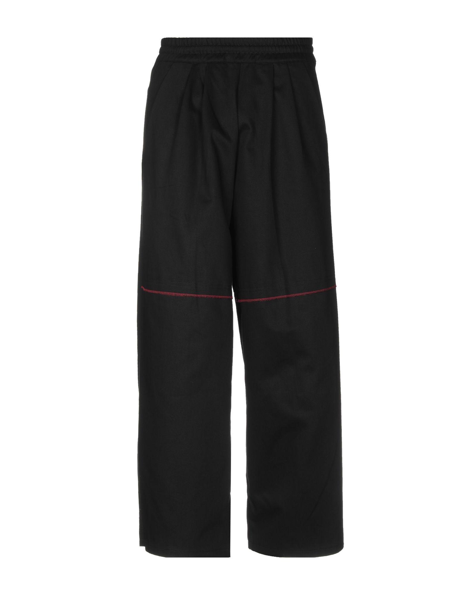 《送料無料》KOMAKINO メンズ パンツ ブラック S コットン 100%