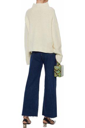SIMON MILLER Toluca high-rise wide-leg jeans