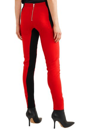 GARETH PUGH Two-tone crepe leggings