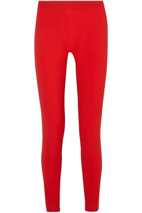GARETH PUGH Two-tone crepe leggings