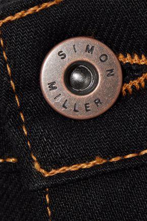 SIMON MILLER Dever high-rise slim-leg jeans