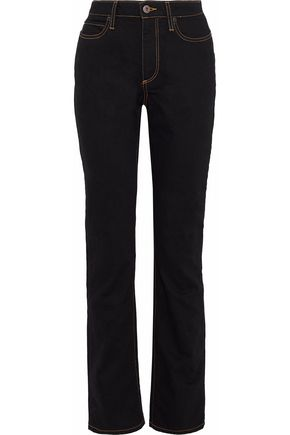 SIMON MILLER Dever high-rise slim-leg jeans