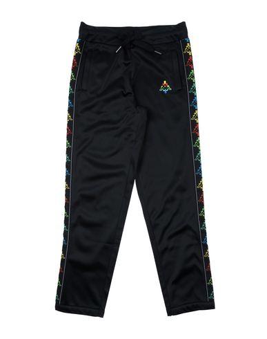 Фото - Повседневные брюки от MARCELO BURLON x KAPPA черного цвета