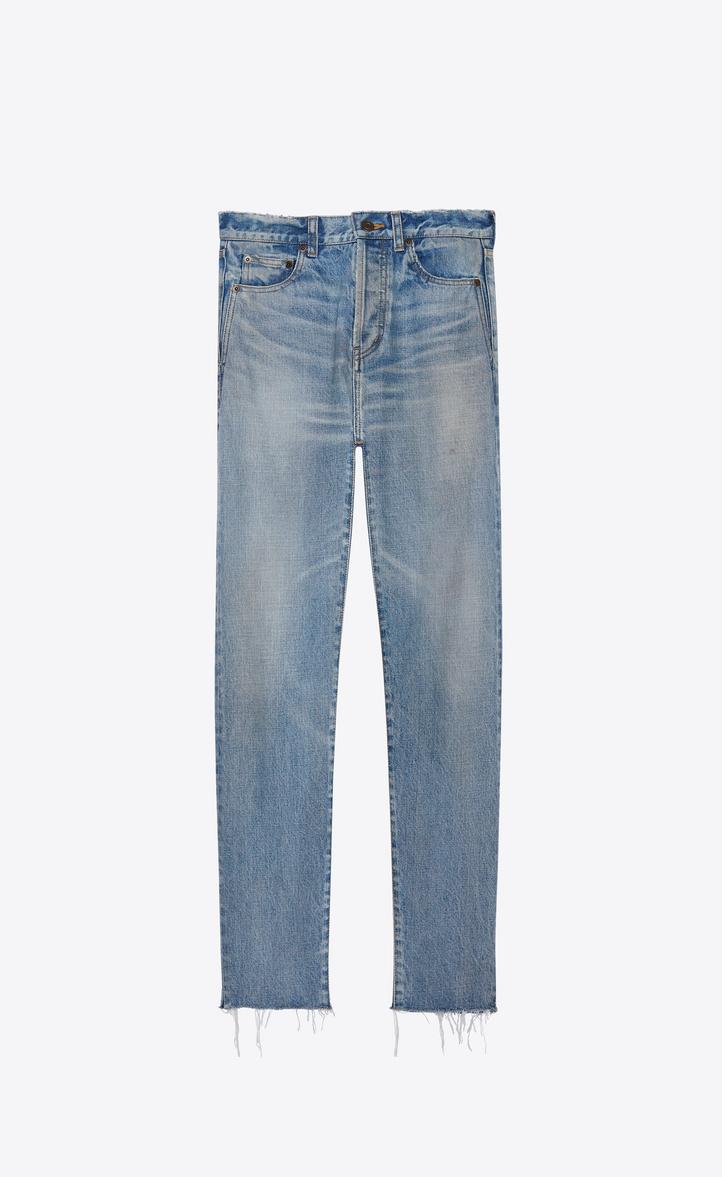 Grezzo Jeans In Slim Laurent Denim e Con Dettaglio Saint Orlo aS0Rxqx 49b6cd47004b