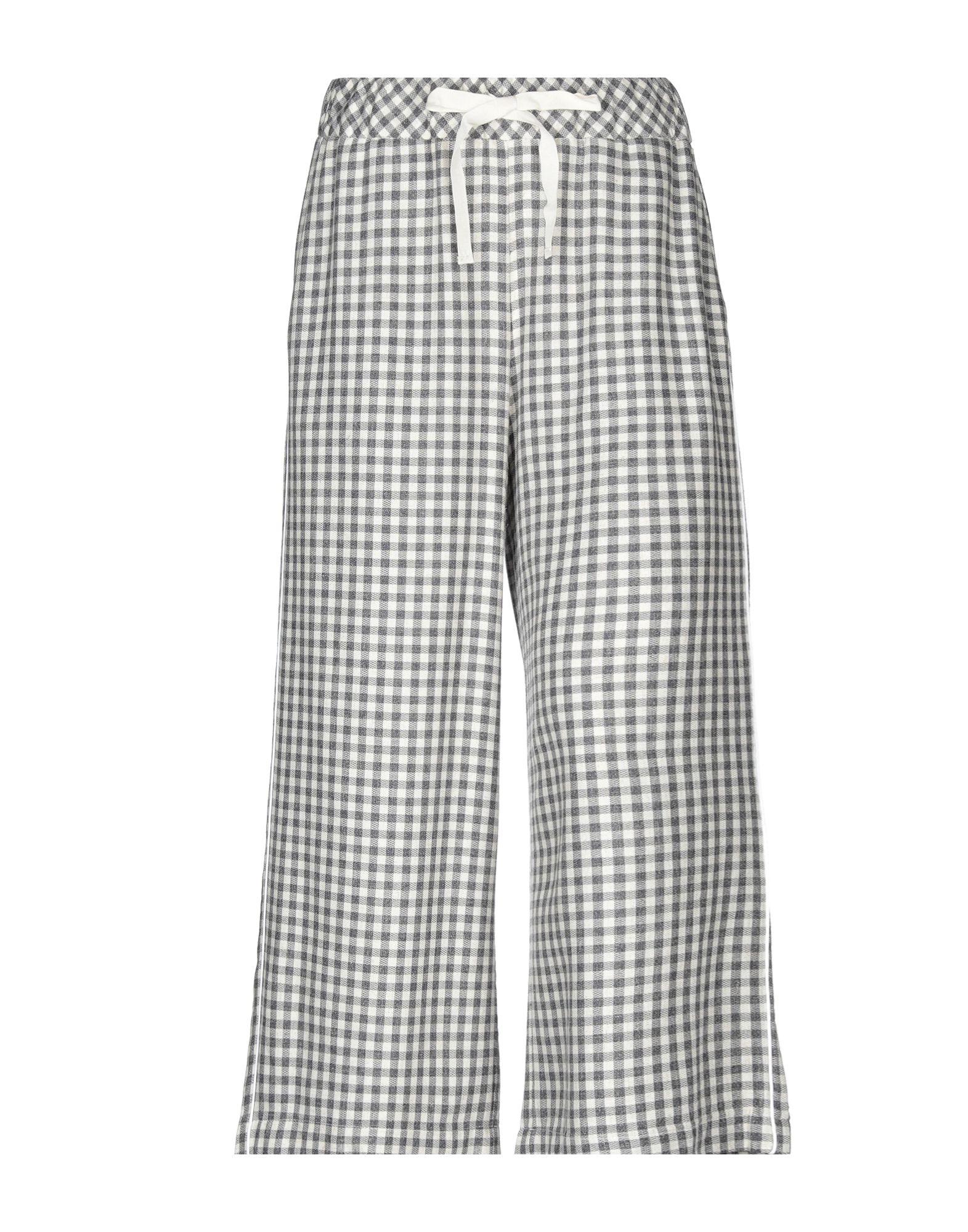 OTTOD'AME Повседневные брюки брюки узкие в клетку