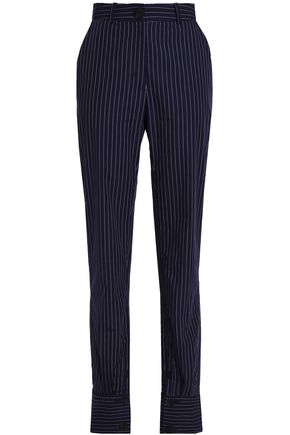J.W.ANDERSON Pinstriped cotton slim-leg pants