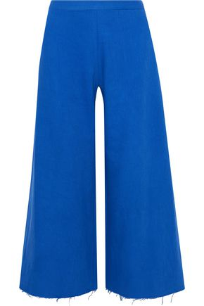 SIMON MILLER Adler cotton-twill culottes
