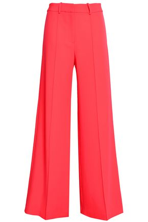 MILLY Hayden stretch-knit wide-leg pants