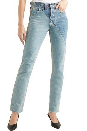 VETEMENTS x LEVI'S + Levi's mid-rise straight-leg jeans