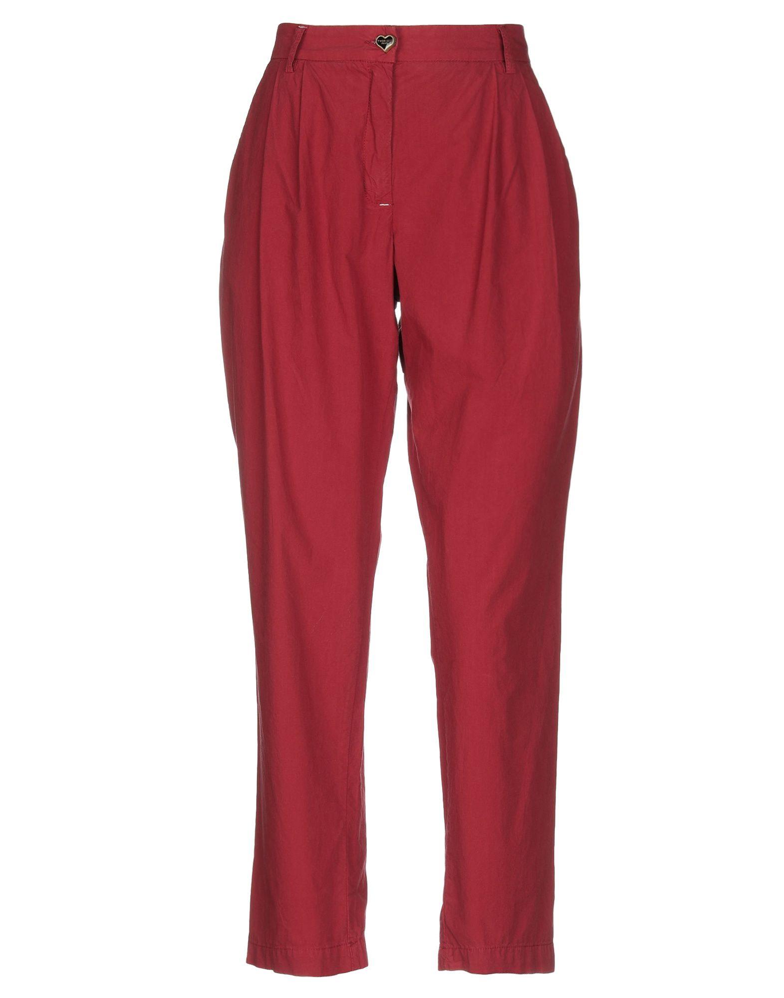 TWIN-SET JEANS Повседневные брюки платье twin set simona barbieri twin set simona barbieri tw005ewzlx76