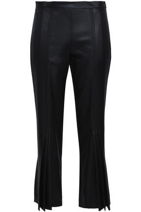 MARCO DE VINCENZO Satin bootcut pants
