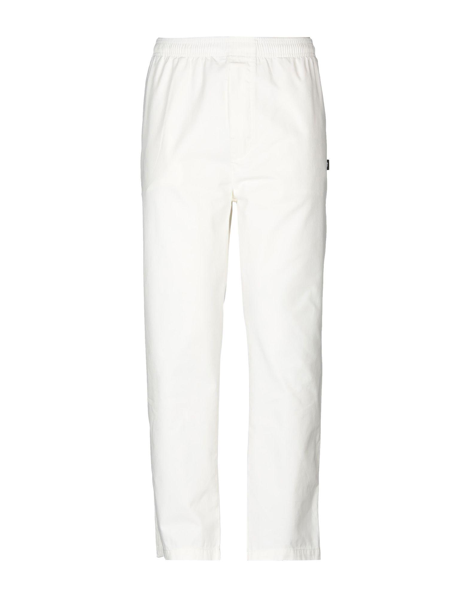 《送料無料》STUSSY メンズ パンツ アイボリー XL コットン 100%