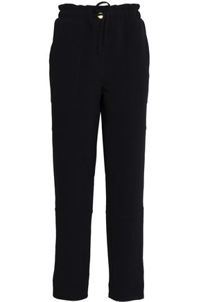 BOUTIQUE MOSCHINO Crepe tapered pants