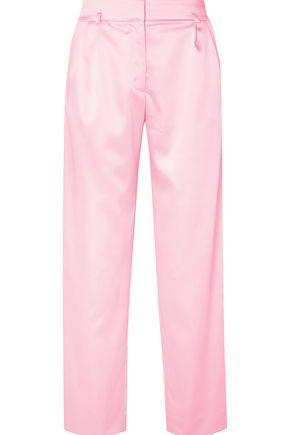 KOCHÉ Woven straight-leg pants