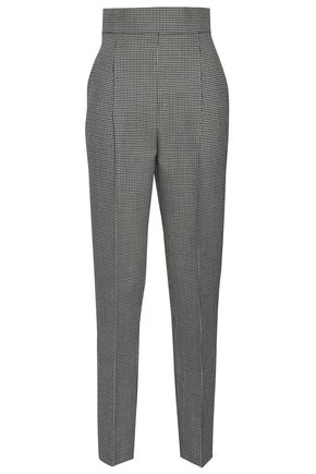 PHILOSOPHY di LORENZO SERAFINI Houndstooth wool tapered pants