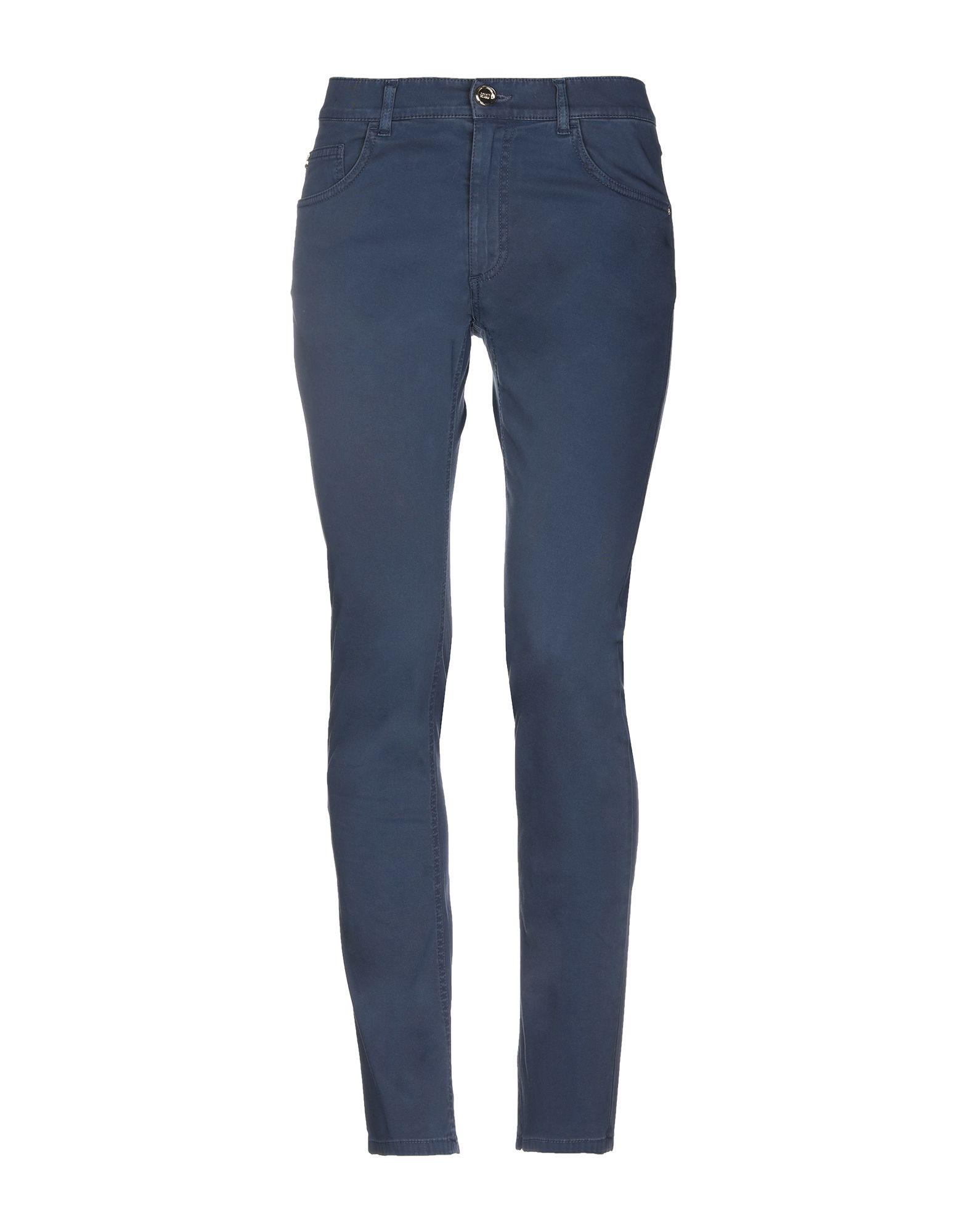 《セール開催中》CAVALLI CLASS メンズ パンツ ブルーグレー 48 コットン 97% / ポリウレタン 3%