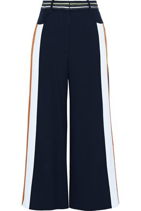 PETER PILOTTO Striped crepe wide-leg pants
