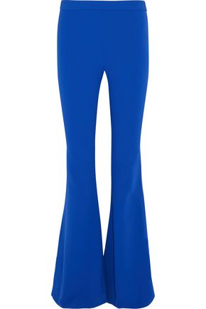 MOSCHINO Stretch-crepe flared pants