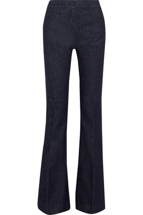 VERSACE Mid-rise bootcut jeans