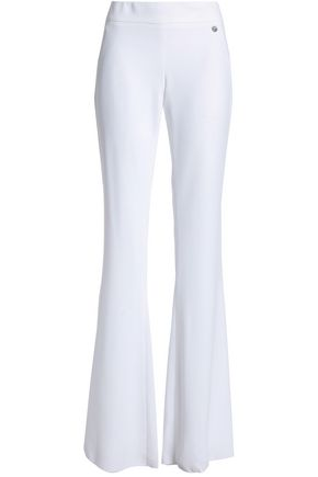 VERSACE COLLECTION Crepe flared pants