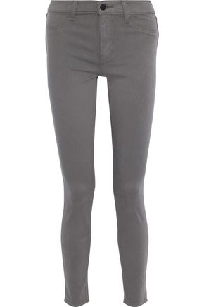J BRAND 485 stretch-cotton skinny pants