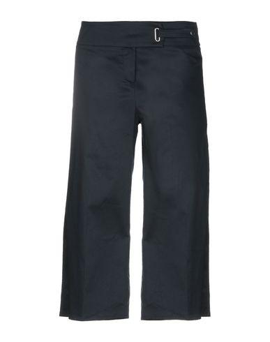 Фото - Повседневные брюки от GRETHA Milano темно-синего цвета