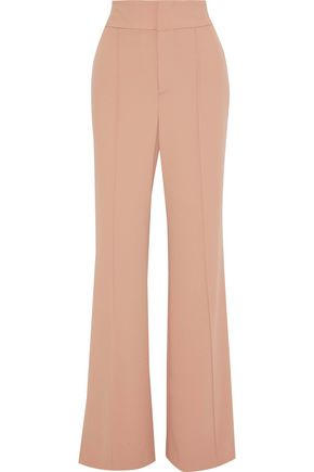 ALICE + OLIVIA Dawn crepe flared pants