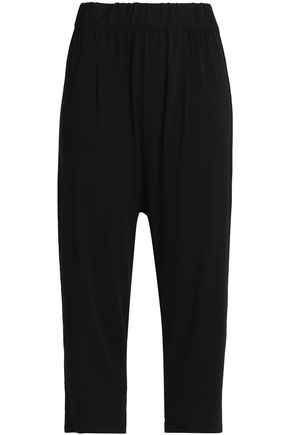 ENZA COSTA Stretch-jersey tapered pants
