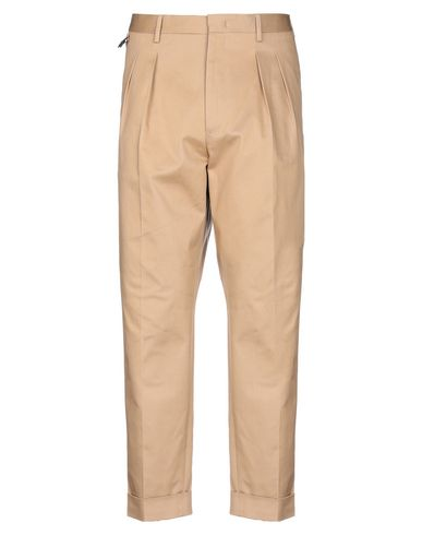 Фото - Повседневные брюки от PT01 цвет верблюжий