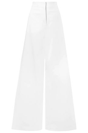 EMILIO PUCCI Cotton-blend twill wide-leg pants