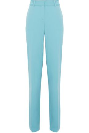 ROBERTO CAVALLI Wool-blend bootcut pants