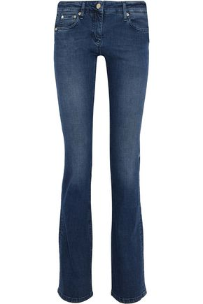 ROBERTO CAVALLI Mid-rise bootcut jeans