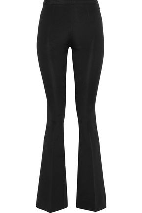MANSUR GAVRIEL Stretch-knit bootcut pants