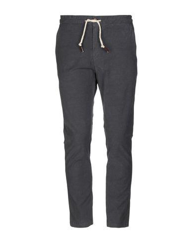 Фото - Повседневные брюки от INDIVIDUAL свинцово-серого цвета