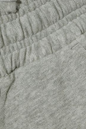 A.L.C. Emory French cotton-terry track pants