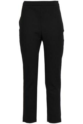 CAROLINA HERRERA Cropped wool-blend slim-leg pants