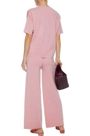 MANSUR GAVRIEL Wool-blend wide-leg pants