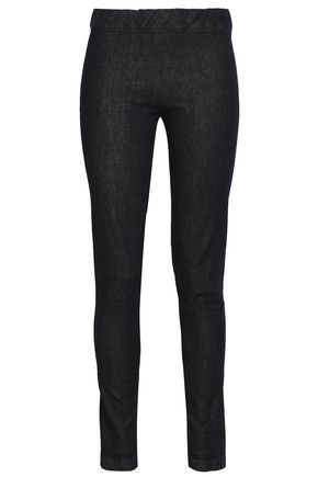 THE ROW Straaton high-rise denim leggings