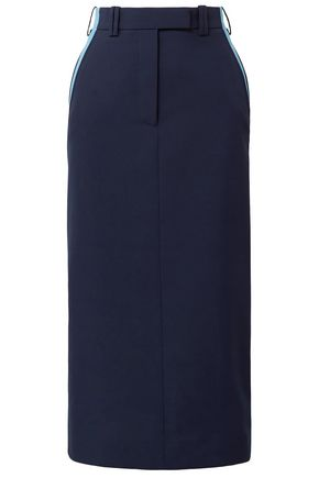 CALVIN KLEIN 205W39NYC Two-tone woven midi pencil skirt