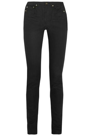 SAINT LAURENT High-rise skinny jeans
