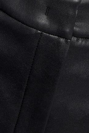 GOEN.J Faux leather culottes
