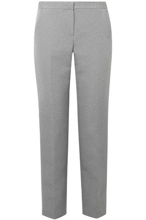 THE ROW Mélange woven straight-leg pants
