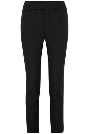 SAINT LAURENT Wool-twill tapered pants