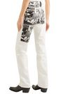 CALVIN KLEIN 205W39NYC + Andy Warhol Foundation printed high-rise straight-leg jeans