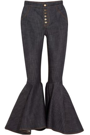 ELLERY Hysteria denim flared pants