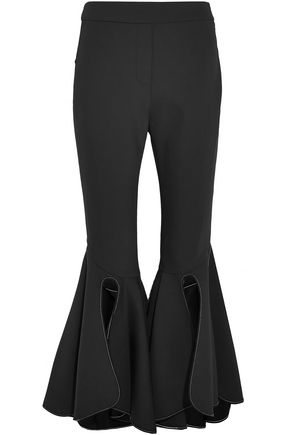 ELLERY Ox Bow crepe flared pants