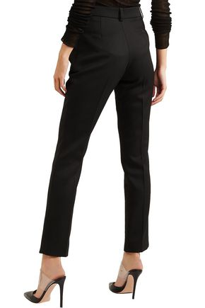 MUGLER Wool slim-leg pants