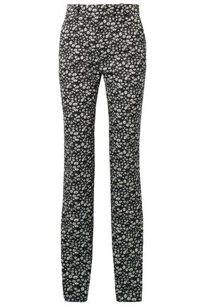 CALVIN KLEIN 205W39NYC Printed cotton-twill straight-leg pants