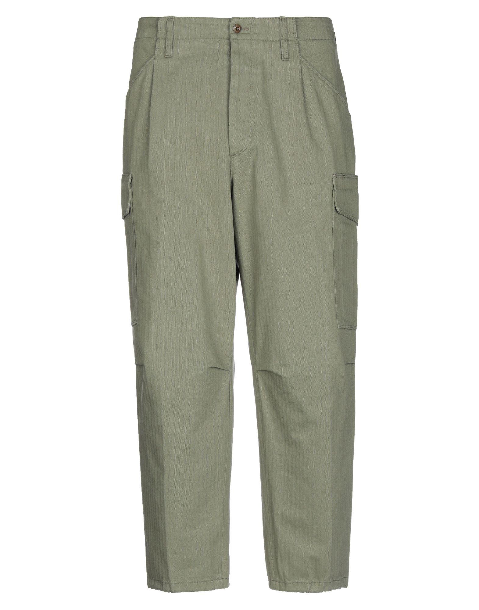 《セール開催中》CELLAR DOOR メンズ パンツ ミリタリーグリーン 46 コットン 100%